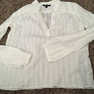 Brooks brothers peasant top like new Small